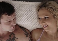 Fat cocked betrothed panhandler copulates a sexy boom box - Sgt Miles coupled with Natalie Mars - Transsensual