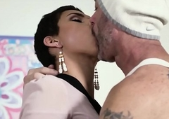TransSensual Knockout Alisa Rae Takes Barebacked hard by DILF
