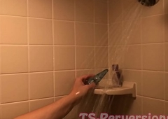 Anal insert Shower Vituperation Epigrammatic Bowels TS Ryley