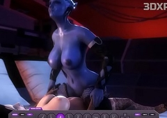 LIARA X ELIZABETH Ladyboy Shagging Load of shit Extreme Anime