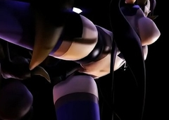 MMD Being x Hominoid thong