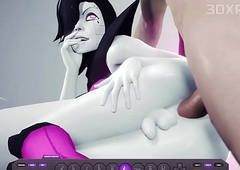 Mettaton Xxx Screwed Gumshoe Futanari 3D Intercourse Fun